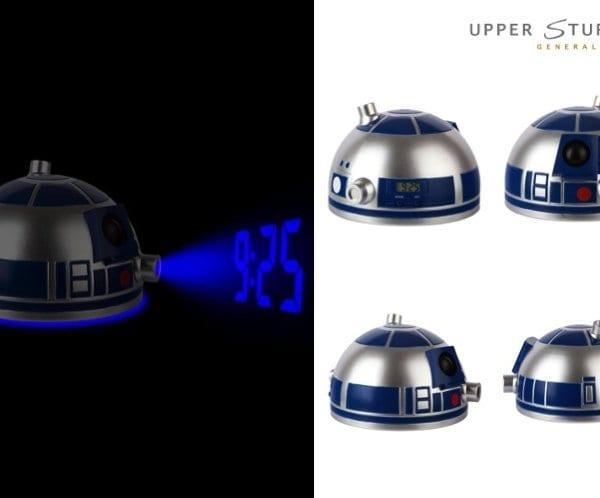 Star Wars Projector Alarm Clock R2D2