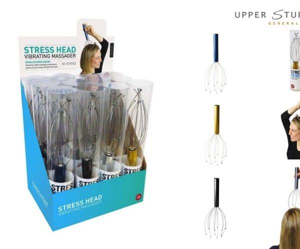 StressHead - Vibrating Head Massager