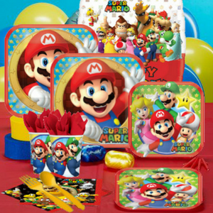 Super Mario Bros. Party Supplies