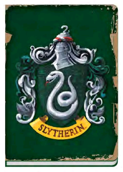 harry potter slytherin notebook 1
