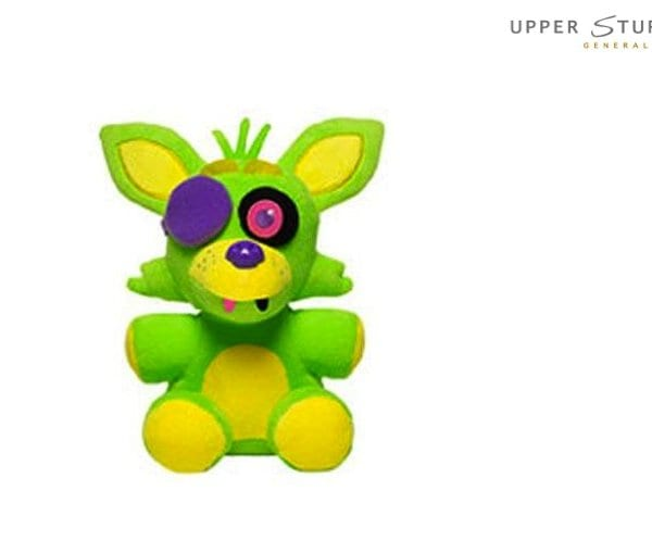 Five Nights at Freddy's- Plush – Foxy Blacklight (Green)