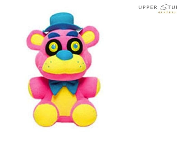 Five Nights at Freddy's- Plush – Freddy Blacklight (Pink)