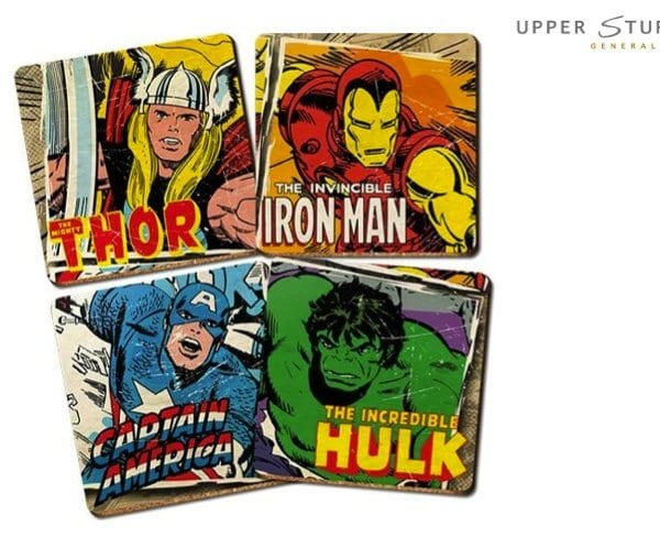 Marvel Comics Coasters Set 9314783554409