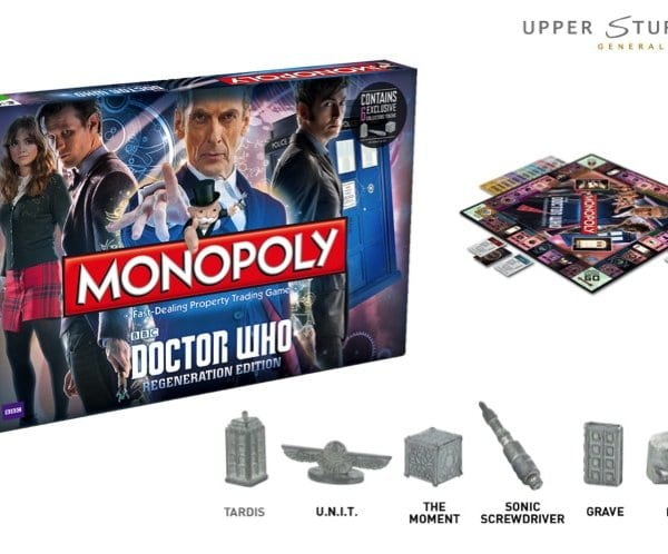 Monopoly Doctor Who Regeneration Edition 5053410001056
