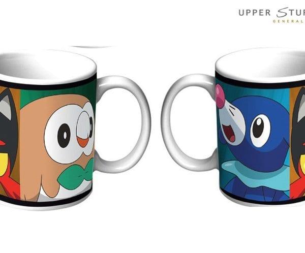 Pokemon Coffee Mug Sun and Moon Starter 9314783528431