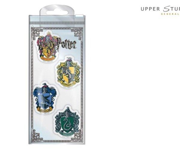 Harry Potter - Houses Eraser Set
