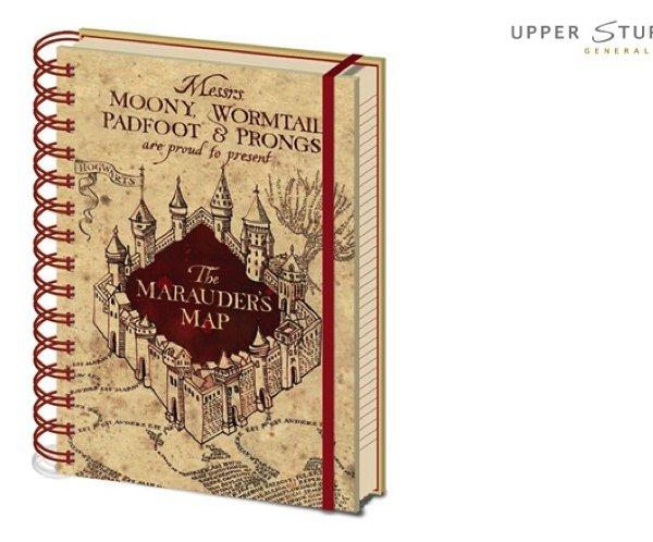 Harry Potter - Marauders Map Notebook