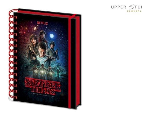 Stranger Things - One Sheet Notebook