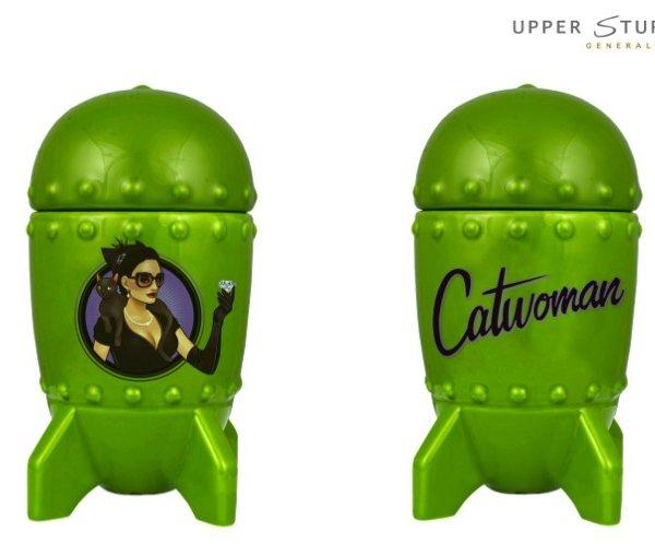 DC Bombshells Catwoman 3D Bombshell Mug with Lid