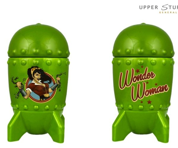 DC Bombshells Wonder Woman 3D Bombshell Mug with Lid