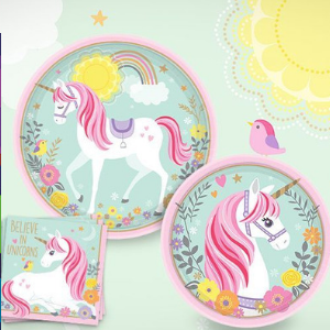 Magical Unicorns Party Supplies